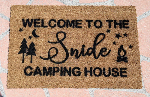 Camper Trailer Doormat - Personalised Doormat Australia
