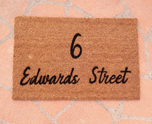 Load image into Gallery viewer, Street Name Doormat  | Personalised Doormat