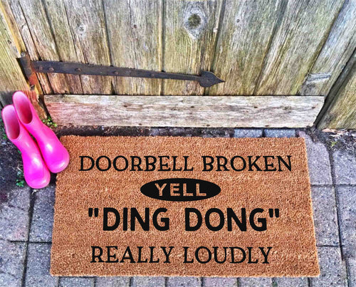 Doorbell Broken yell