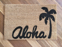 Load image into Gallery viewer, Aloha - Custom order - Design your own doormat - Personalised Doormats Australia