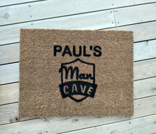 Load image into Gallery viewer, Man Cave doormat.