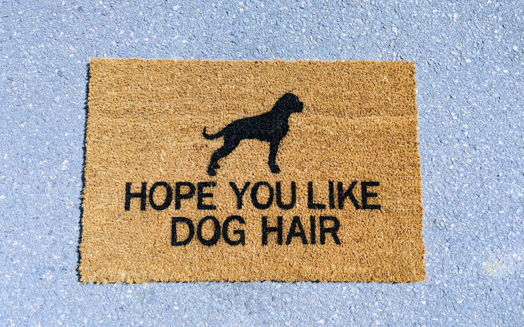 Dog Doormat personalised doormats