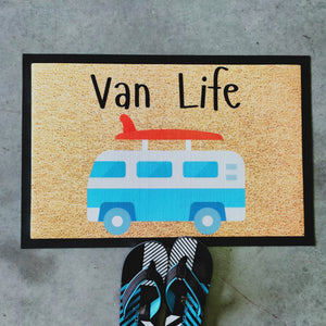 Van life coloured doormat