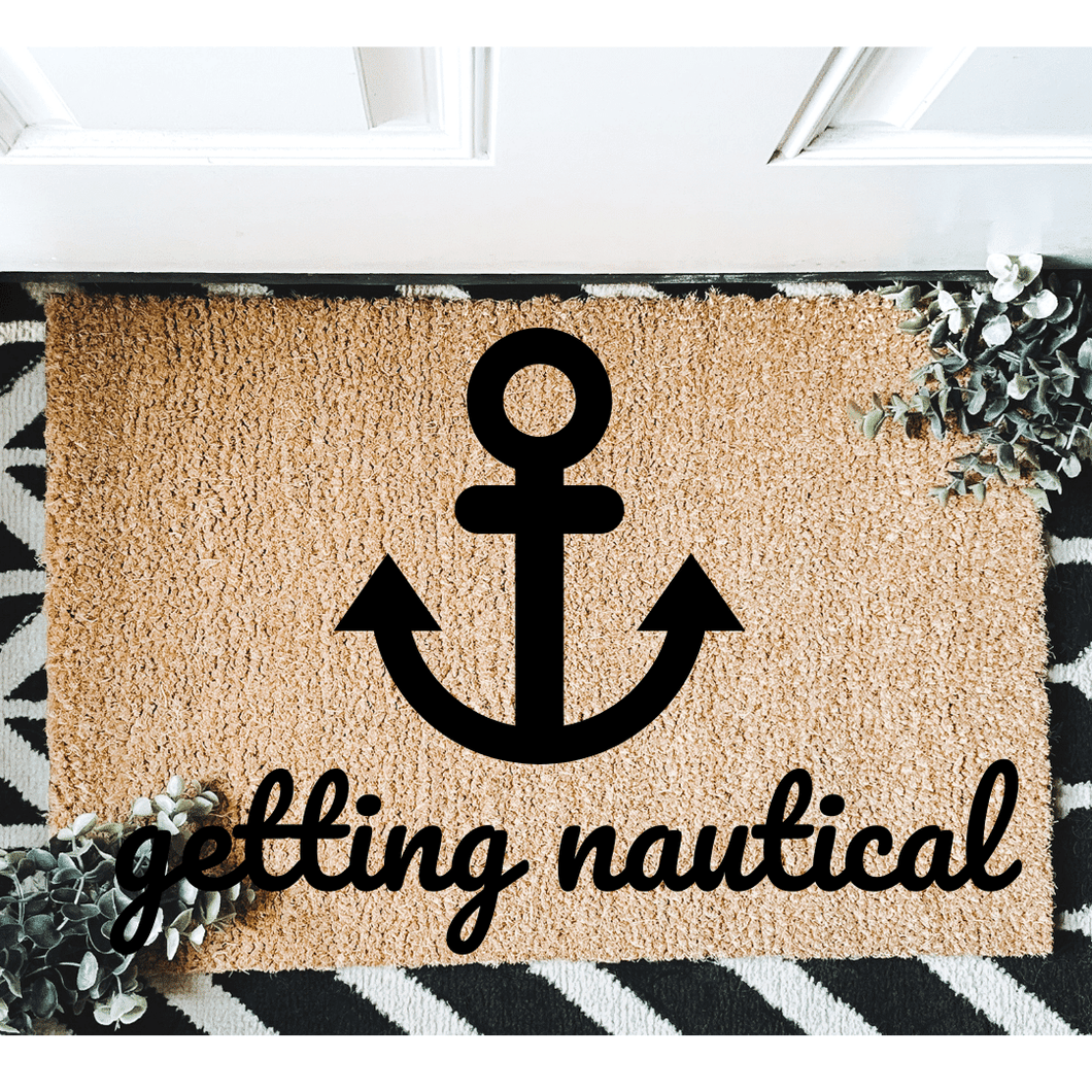 Getting Nautical Boat doormat