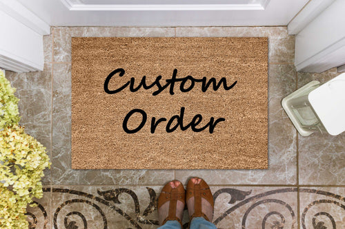Design your own doormat | Personalised Doormats Australia