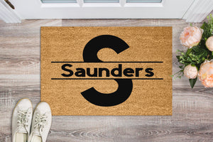 Monogram Personalised doormat. - Personalised Doormat Australia