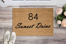 Load image into Gallery viewer, Street Name Doormat - Personalised Doormat Australia
