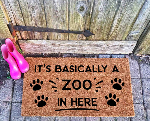 It's a Zoo in here doormat