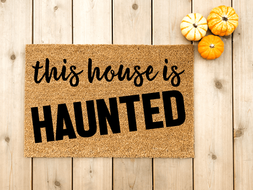 Haunted House doormat