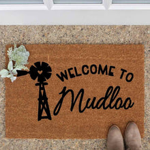 Load image into Gallery viewer, Windmill personalised Doormat