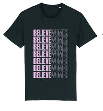Load image into Gallery viewer, Believe Women T-shirt