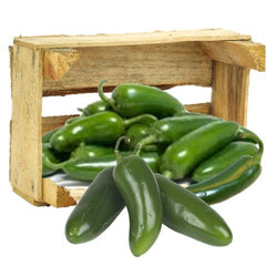 Organic Jalapeno HOT Peppers - Organic Mountain Farms  - 1