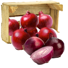 Organic Purple/Red Onions - Organic Mountain Farms