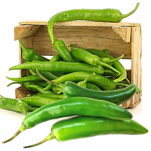 Organic Serrano HOT Peppers - Organic Mountain Farms