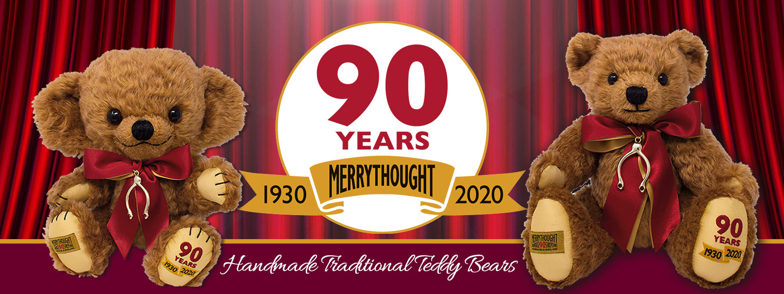Celebrating 90 years of British Heritage with a visit to Merrythought Teddy Bears