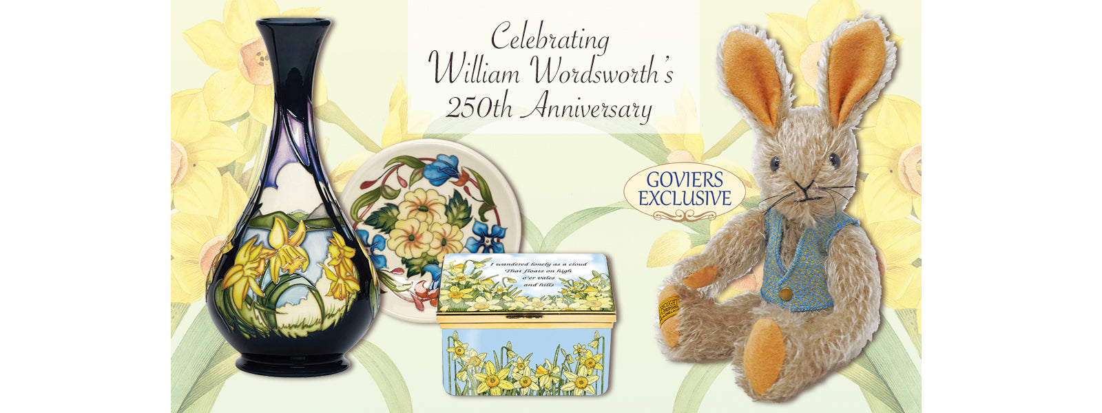 WILLIAM WORDSWORTH 250th ANNIVERSARY COLLECTION