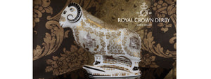 Royal Crown Derby Collectable Paperweights and giftware. Made in England