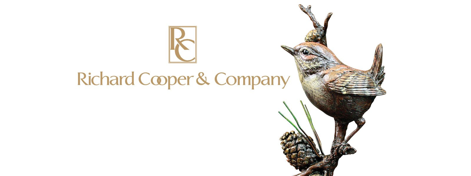 RICHARD COOPER ART IN BRONZE SCULPTURES