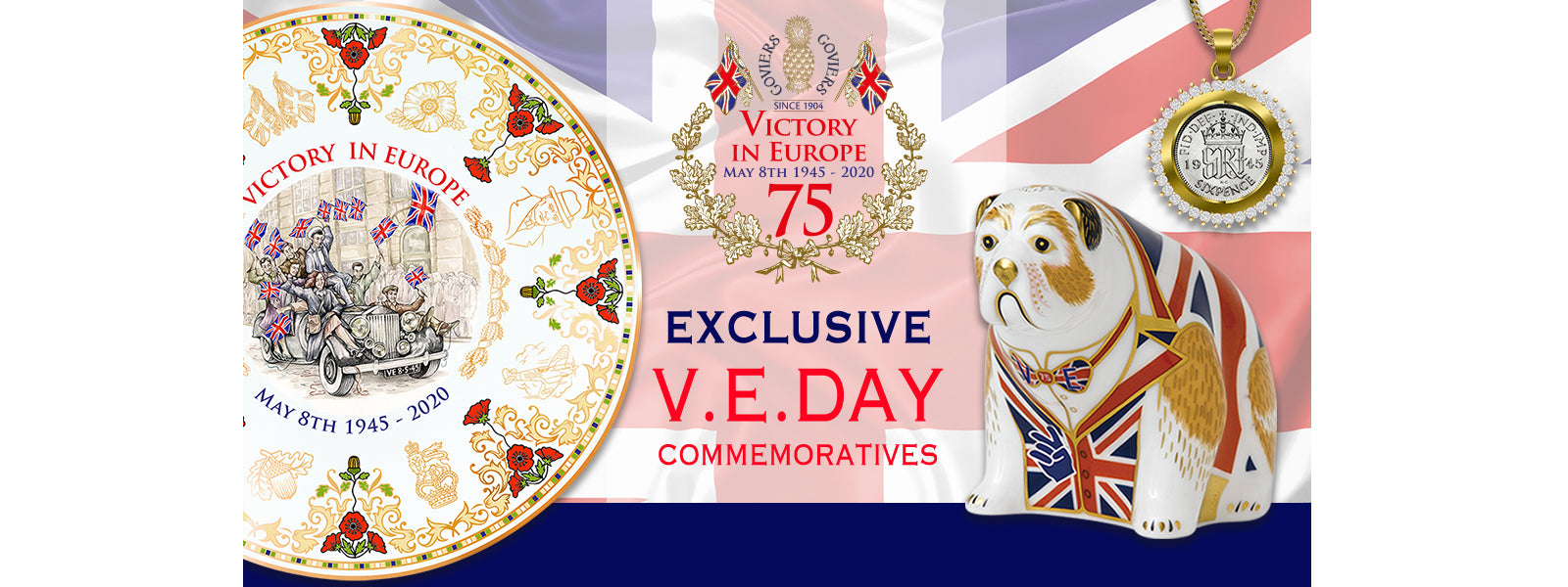 VE  and VJ DAY 75 COMMEMORATIVE COLLECTION