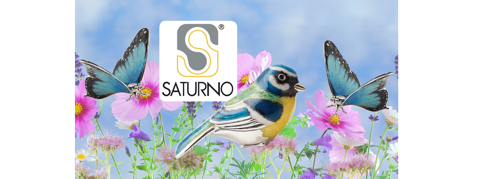 Saturno Silver Hand enamelled Jewellery and gifts