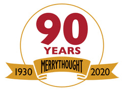 90 year Merrythought logo