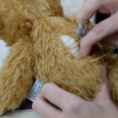 Sewing Merrythought Bear