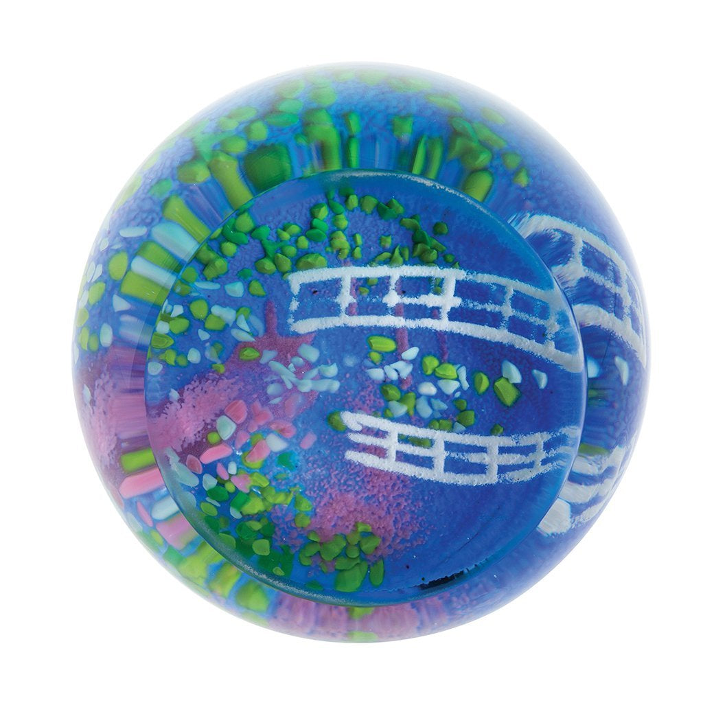 Caithness Glass Artistic Treasures Lily Pond Paperweight-delivery 2021-Caithness Glass-Goviers of Sidmouth