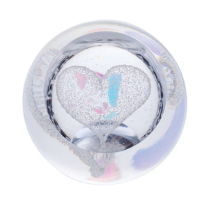 Caithness Glass Love Precious Heart Paperweight-delivery 2021-Caithness Glass-Goviers of Sidmouth
