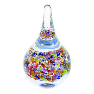 Caithness Glass Millefiori Fingal's Cave Ringstand-delivery 2021-Caithness Glass-Goviers of Sidmouth