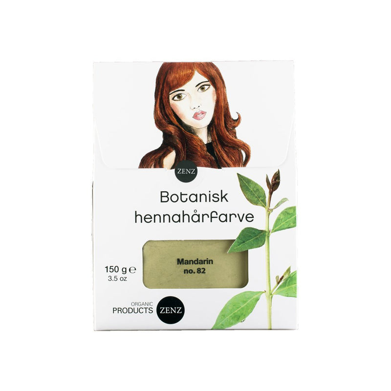 Botanical Henna Hair Colour Mandarin no. 82