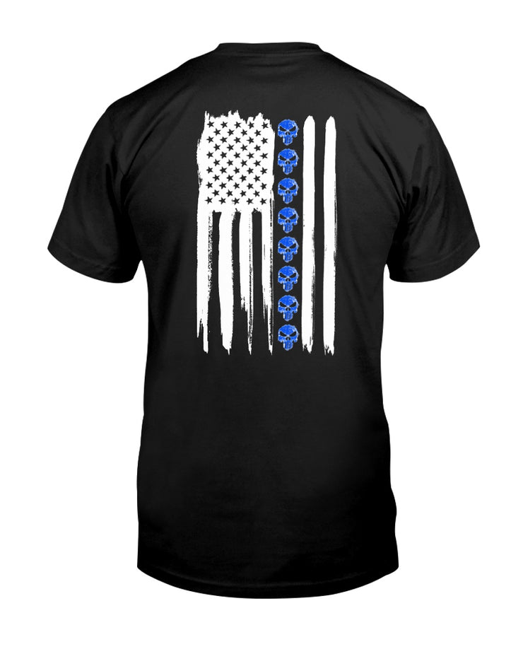 Thin Blue Line Punisher Tee