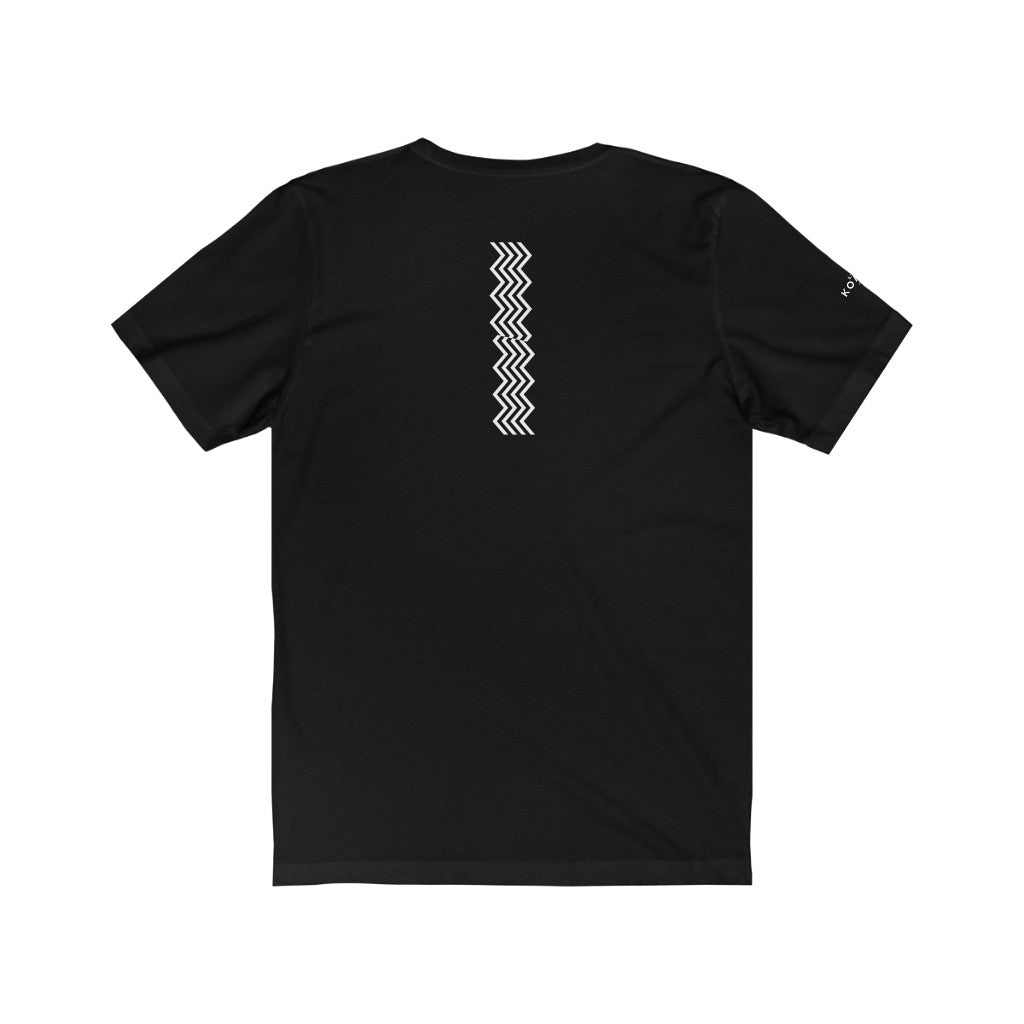 "KOACH ""EMPOWERED BY HIM"" BLACK JERSEY TEE"