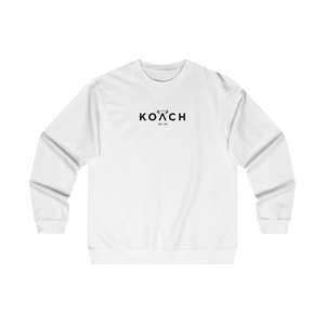 "KOACH ""RENEW"" WHITE SIGNATURE SWEATSHIRT"