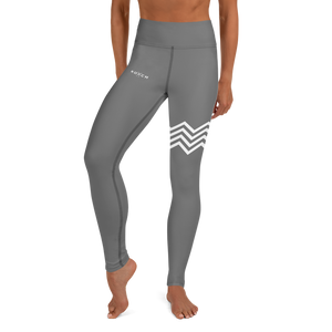 KOACH Women's Signature Dark Grey Yoga Leggings