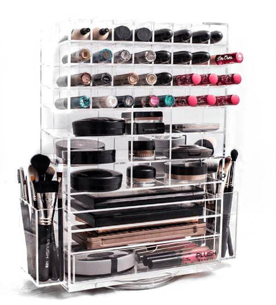 Acrylic Spinning Organiser - Plush Beauty