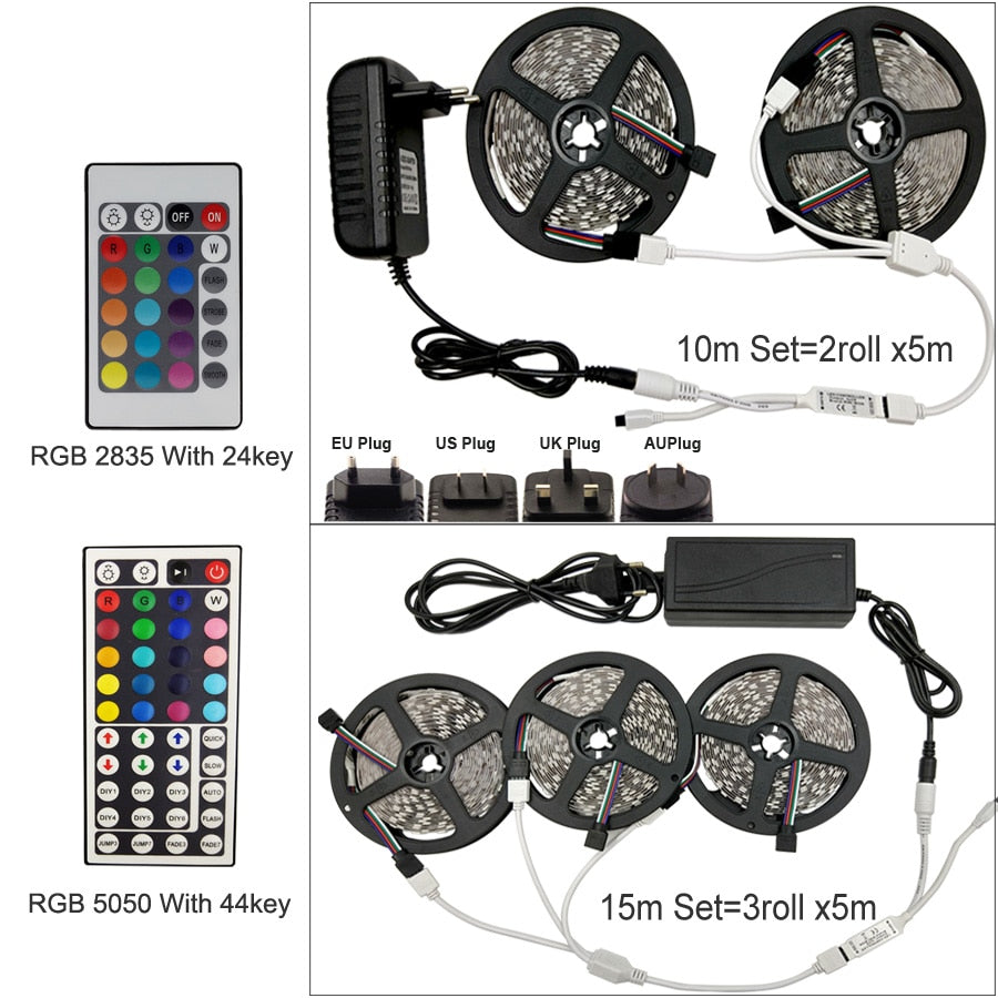 300 color Led Lights kit