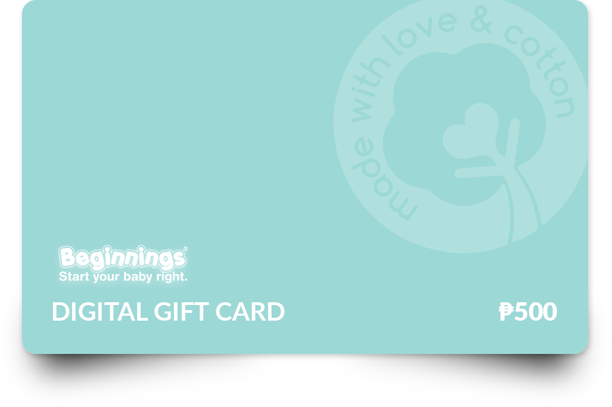 Beginnings Baby Gift Card