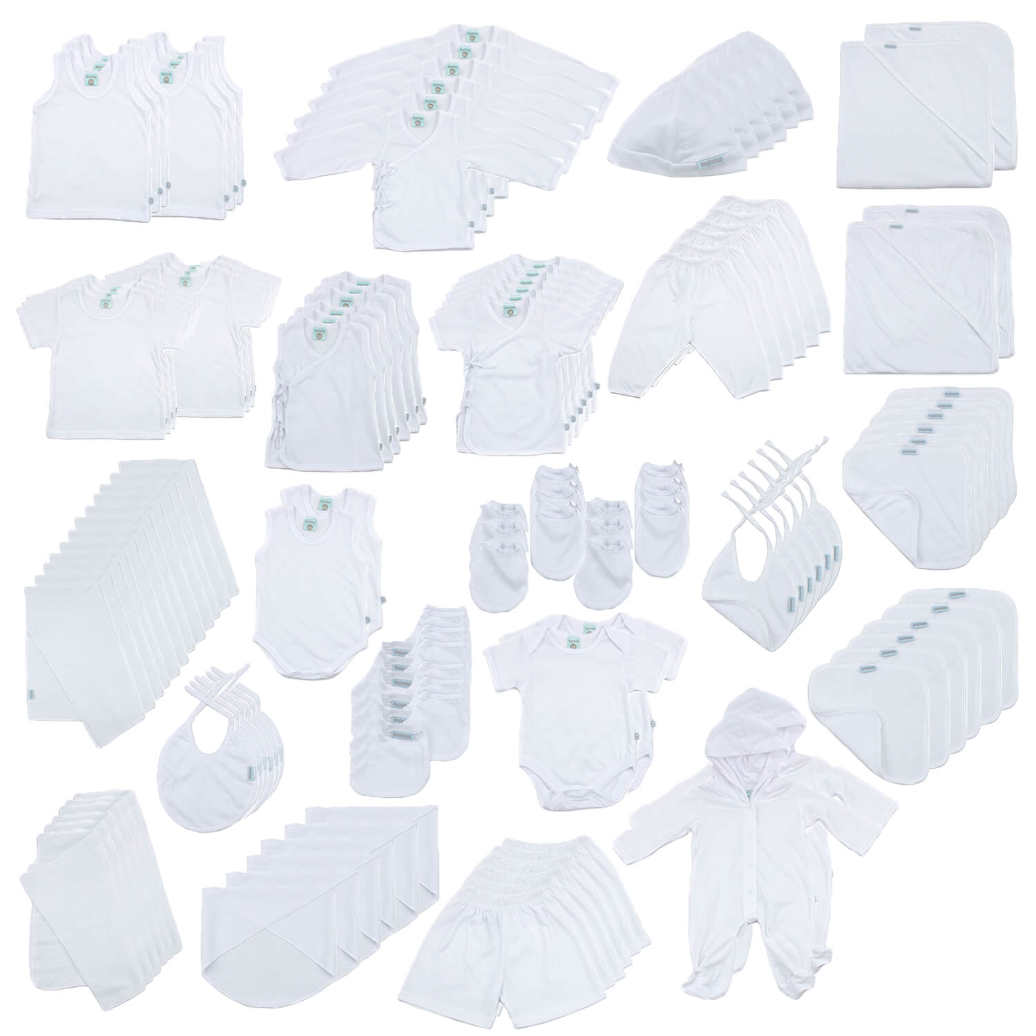 (Unisex) Beginnings Newborn Essentials Full Set