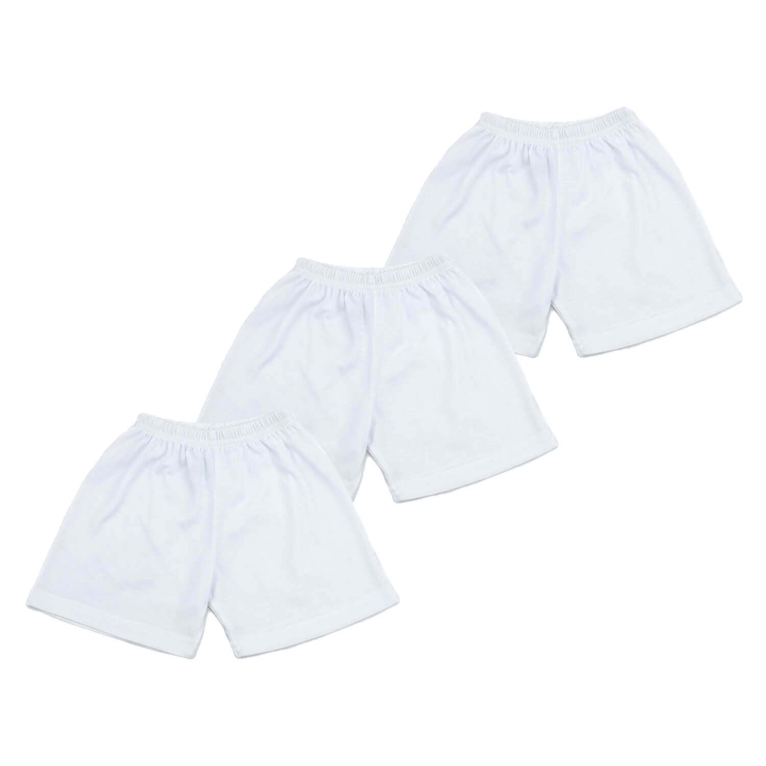 (Unisex) Shorts Pack (3pcs)