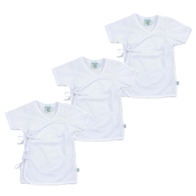 (Unisex) Tieside Shortsleeve Pack (3pcs)