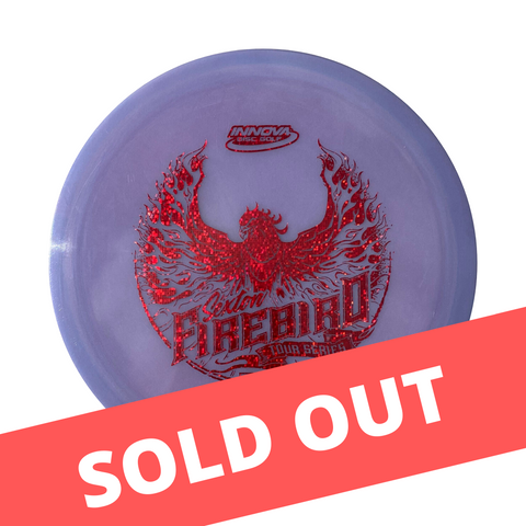 Innova Nate Sexton Tour Series Colour Glow Champion Firebird (2020) Disc | ACE DISC GOLF | UK Disc Golf Shop