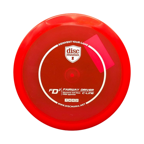 Discmania FD2 C-Line Disc | ACE DISC GOLF | UK Disc Golf Shop
