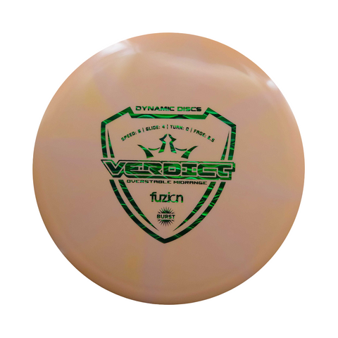 Dynamic Discs Fuzion Burst Verdict Disc | ACE DISC GOLF | UK Disc Golf Shop