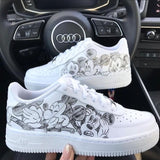 Nike - Air Force One Blanche Custom Mickey - Stayin