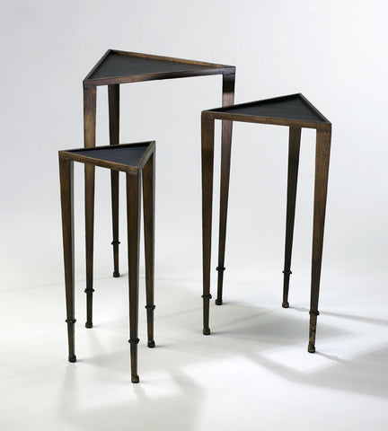 Bleecker Collection // Triangle Nesting Tables