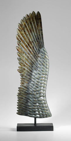 "Wing on Stand Left 39.25"" H"