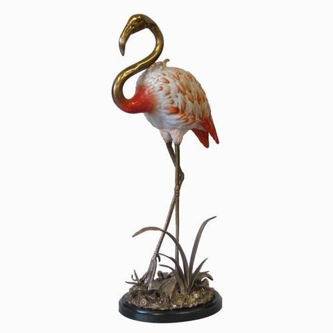 "Florida Flamingo 29"" H Standing in Lagoon"