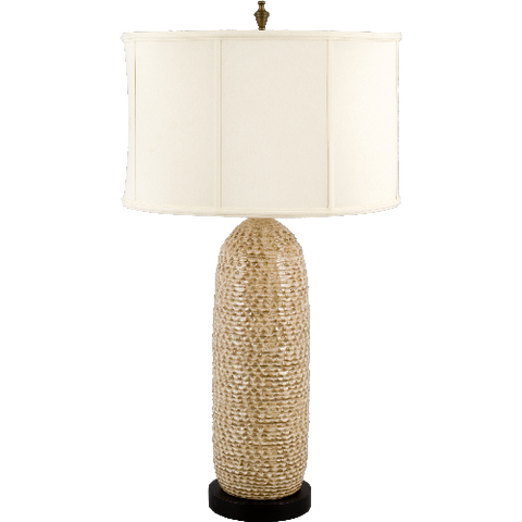 "Hive Stone Ceramic 34"" H Table Lamp"