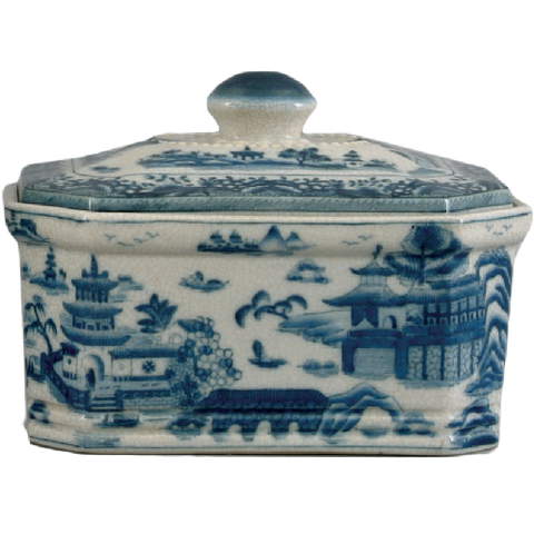 Blue De Chine Storage Box