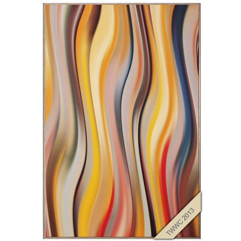 "Swirly Paul - 36"" H X 24"" W  Gallery Canvas"